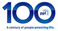 PPL Centennial mark, A century of people powering life.